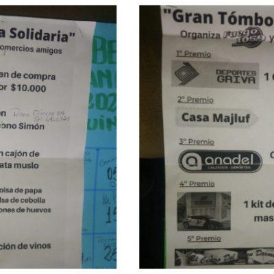 La tómbola solidaria de Radio Fuego ya tiene ganadores