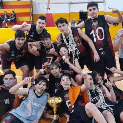 Petro campeón U15