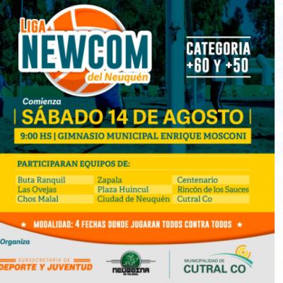 Fin de semana de newcom y vóley en Cutral Co