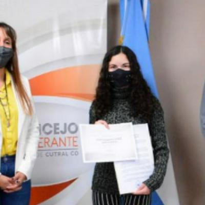"""Concejales reconocieron la trayectoria de """"Dulce Sofía"""""""