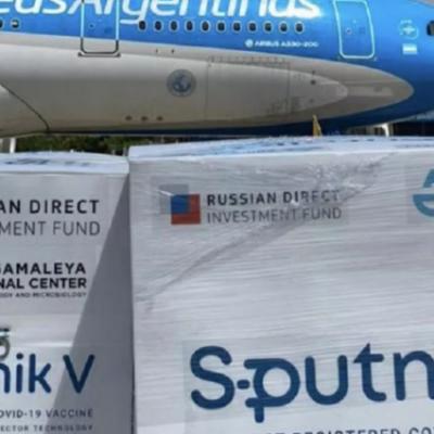 Arribó a Neuquén un nuevo lote de vacunas Sputnik V