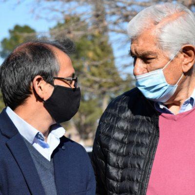Suarez destacó la labor del sindicato petrolero para mantener el Sanatorio