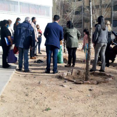 Docentes de la 63 pidieron al intendente que intervenga para el regreso a clases