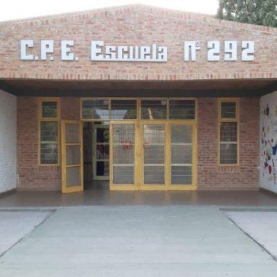 Desconocido entró y robó en la Escuela 292