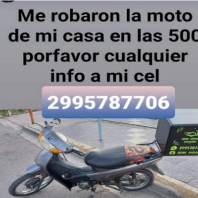 Pide desesperada aporten datos para recuperar su moto robada