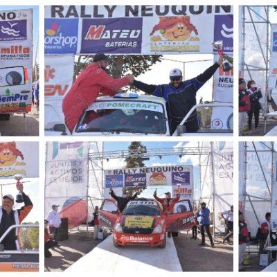 Exitosa vuelta del Rally Neuquino a Plaza Huincul