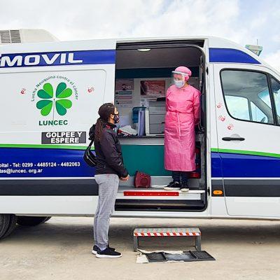 Campaña de mamografías en Policía continúa en Plaza Huincul