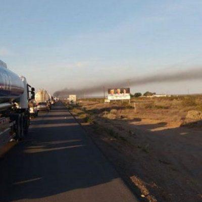 Trabajadores del EPAS cortan ruta en Puente Carancho
