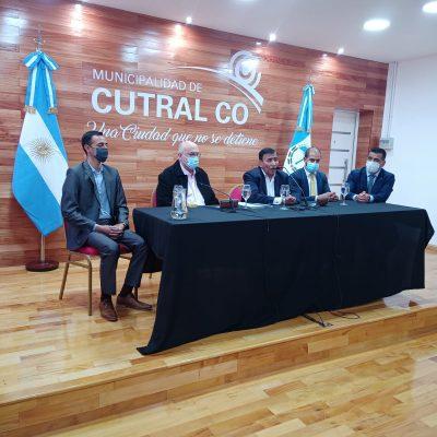 Cutral Co luce un renovado salón de Acuerdos