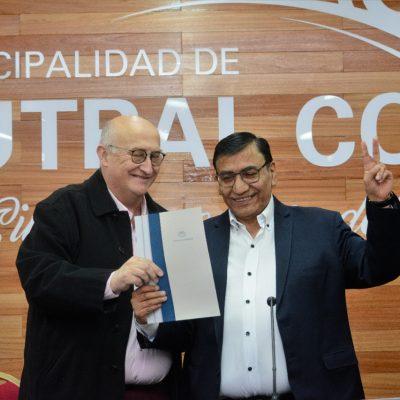 Cutral Co anunció el inicio de la obra para el canal pluvio-aluvional