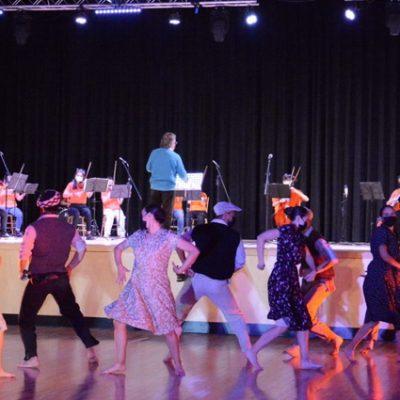 El público de Cutral Co disfrutó de música y danza
