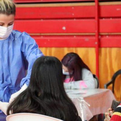 Confirmado: sábado vacunarán a menores de entre 12 y 17 años